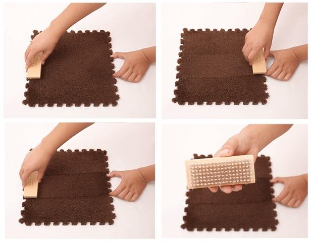 Skládací koberec DIY