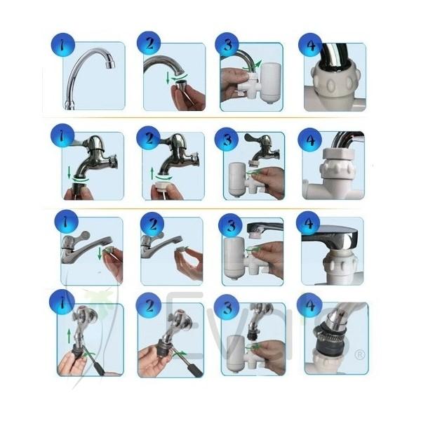návod na instalace filtru na vodu