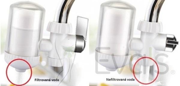 přepínatelný filtr na vodu