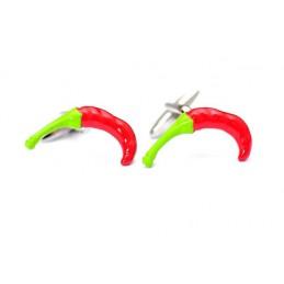 Manžetové knoflíčky chilli papričky feferonky