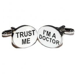 Manžetové gombíky pre doktora