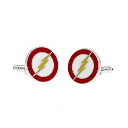 Manžetové knoflíčky blesk elektrikář