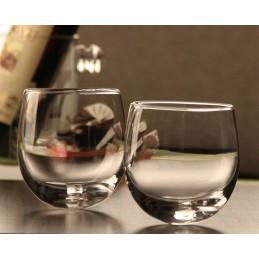 Kývací skleničky s oblým dnem - KVALITA B*