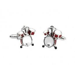 Manžetové gombíky bicie bubny