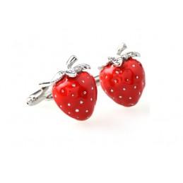 Manschettenknöpfe Erdbeere Gärtner