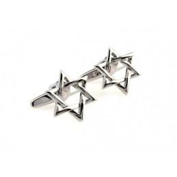 Manžetové knoflíčky židovská hvězda