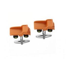 Manžetové knoflíčky nákladní auto - stavebnictví - doprava
