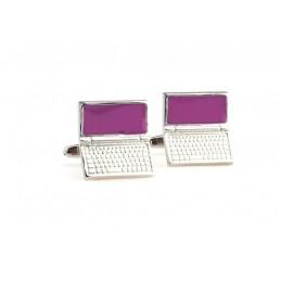 Manžetové gombíky laptop notebook