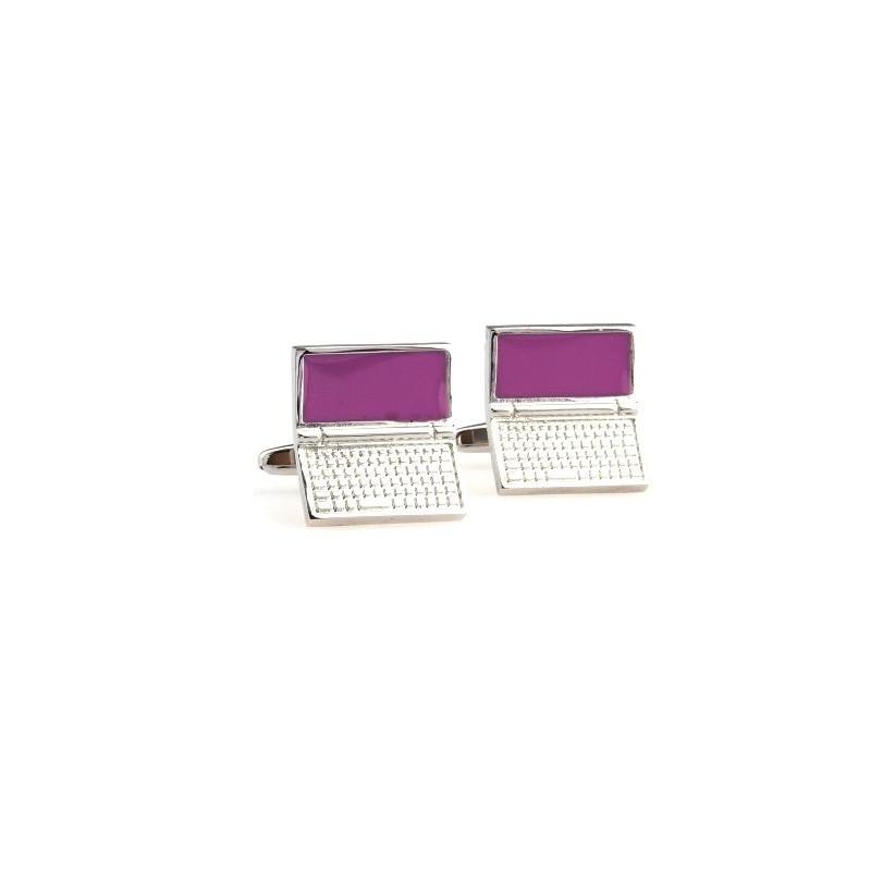 Manžetové knoflíčky laptop notebook