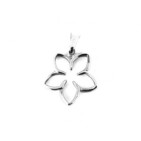 Přívěsek květina ocel