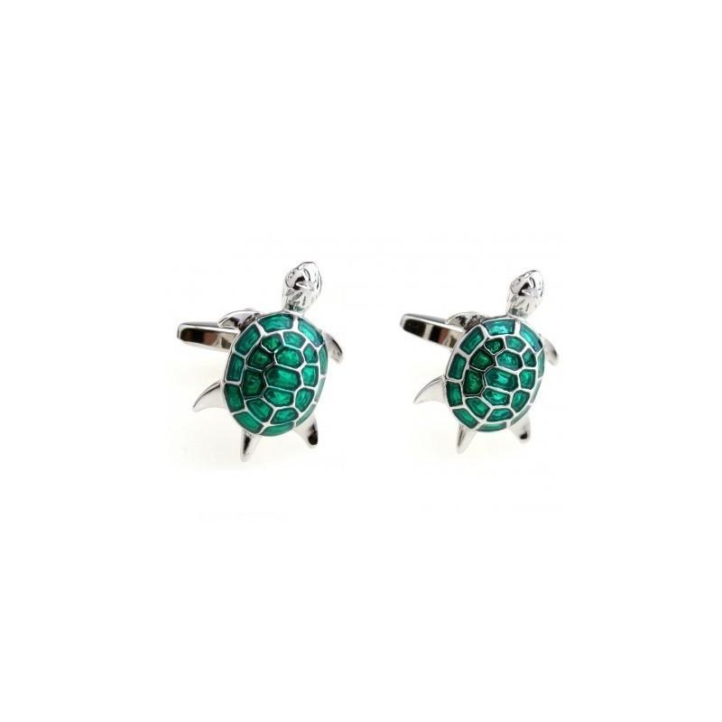 Manžetové gombíky korytnačka