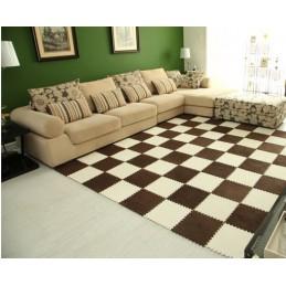 Farebný skladacie puzzle koberec 30x30x0.5cm