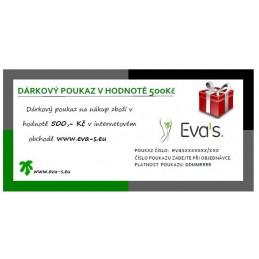Darčekový poukaz v hodnote €18.49