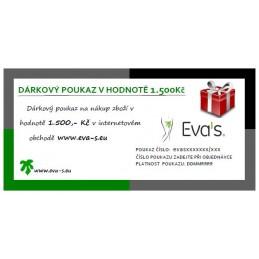 Darčekový poukaz v hodnote €55.48