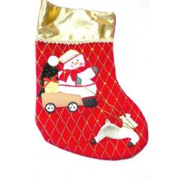 Vianočná ponožka na zavesenie