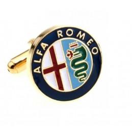 Manžetové knoflíčky s motivem Alfa Romeo