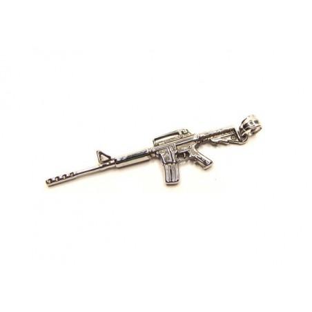 Přívěsek samopal kulomet puška M16 A4