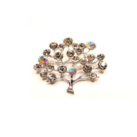 Brož rozkvetlý strom na ples