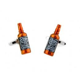 Manschettenknöpfe Jack Daniels, Whiskyflasche