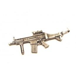 Přívěsek puška SCAR L, airsoft