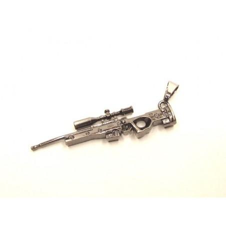 Přívěsek puška L96, sniper, odstřelovač