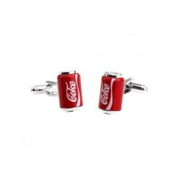 Manžetové gombíky plechovka Coca Cola Coke