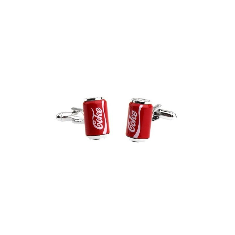 Manžetové knoflíčky plechovka Coca Cola Coke
