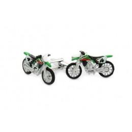 Manschettenknöpfe Cross Motorrad