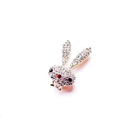 Kaninchen Brosche