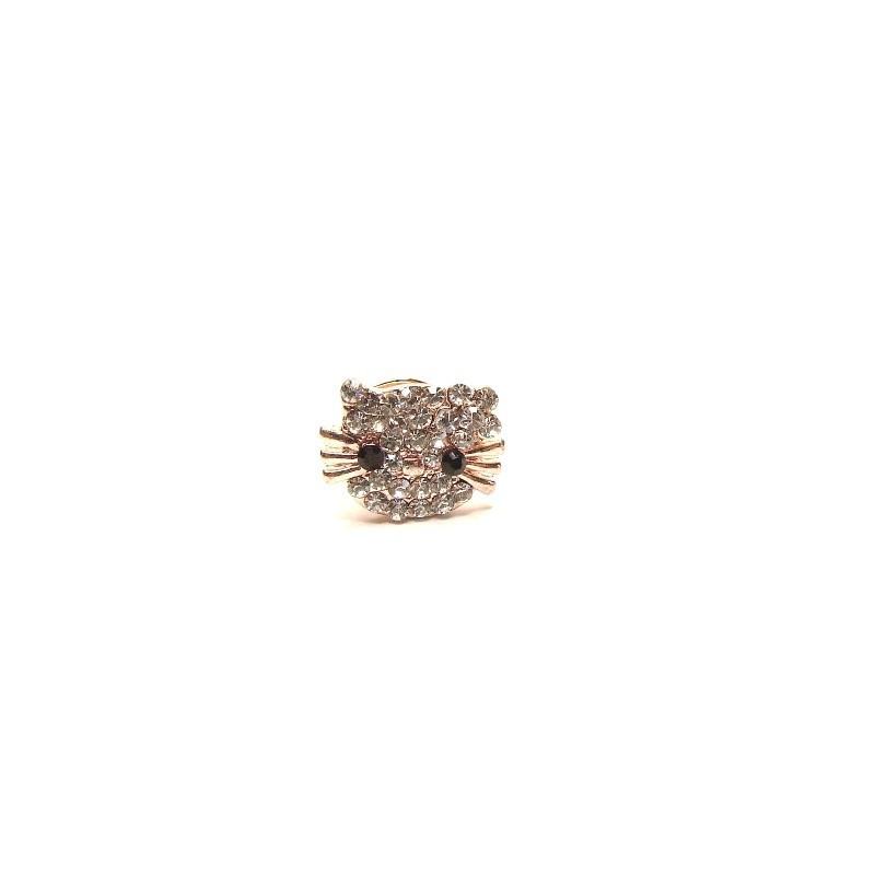Mini brošňa mačička