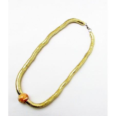 Goldschlange Halskette