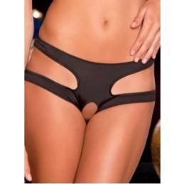 Kalhotky dámské erotické elastické s dírou