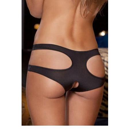 Sexy erotické elastické kalhotky s dírou.
