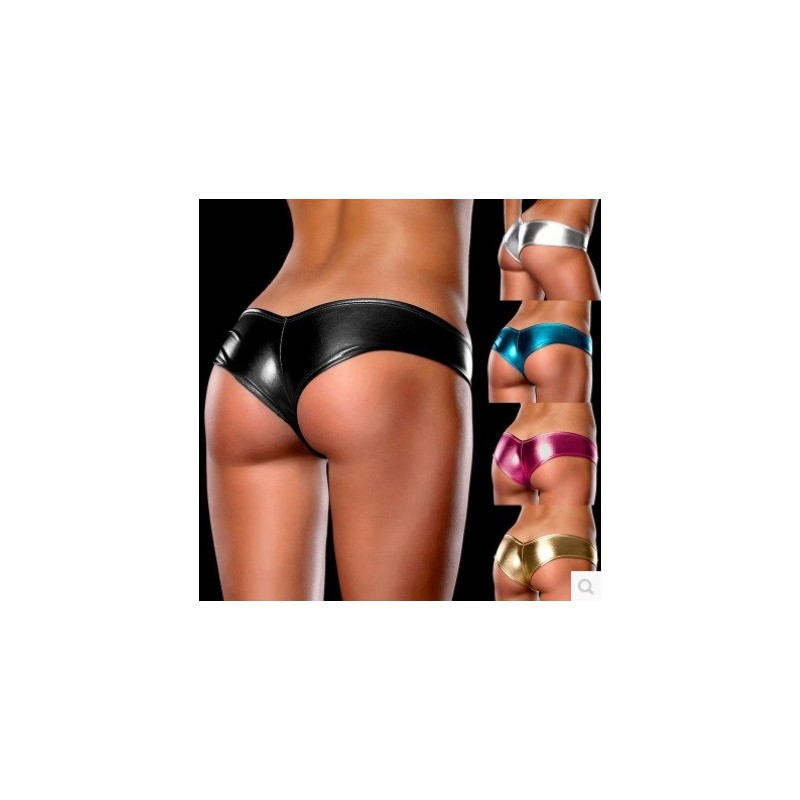 Sexy erotické kalhotky brazilky lesklé tanečnice  - Corella Immy