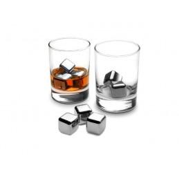 ocelové KOSTKY - Ledové / chladící / mrazící  / KAMENY do pití / drinků / nápojů / whisky / alkoholu