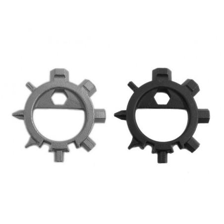 Edelstahl Multi-Tool Schlüsselanhänger Schraubendreher Multi-Tool Eva