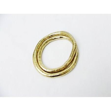 Goldene Armband Schlange
