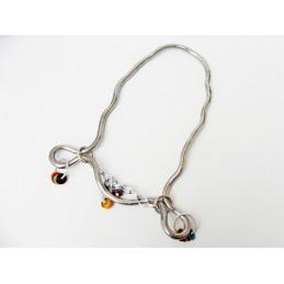 Originální náhrdelník Had