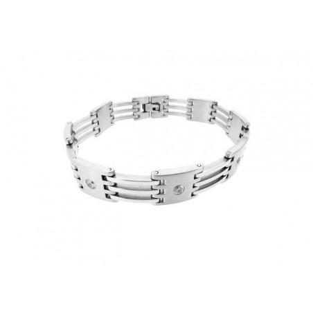 Schönes Armband aus Stahl