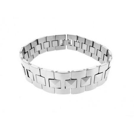 Armband Unisex aus Wolfram Stahl