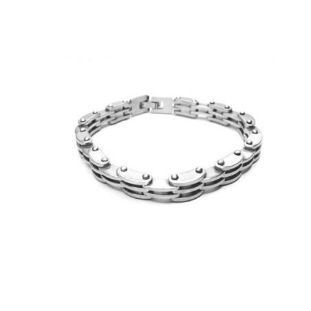 Armband aus gebürstetem chirurgischer Stahl