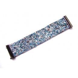 Elegantes Armband mit blauen Steinen