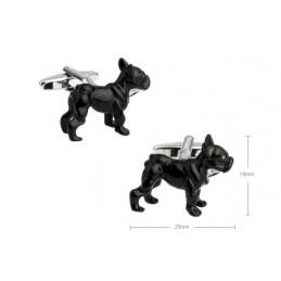 Manžetové knoflíčky buldoček bulldog