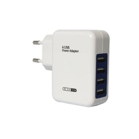 Vysokorychlostní 4 port USB univerzální nabíječka 15.5W, maxi USB charger