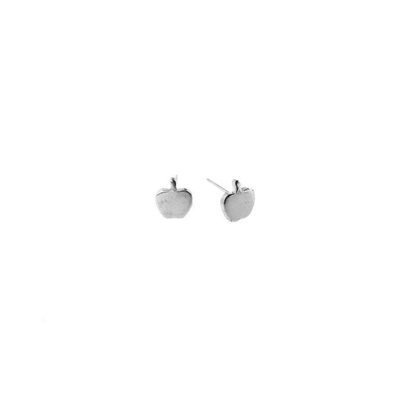 Náušnice pecky jablíčka ocelové