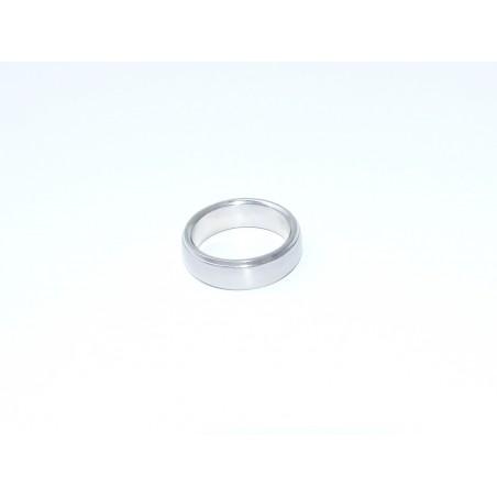 Prsten ocelový hladký