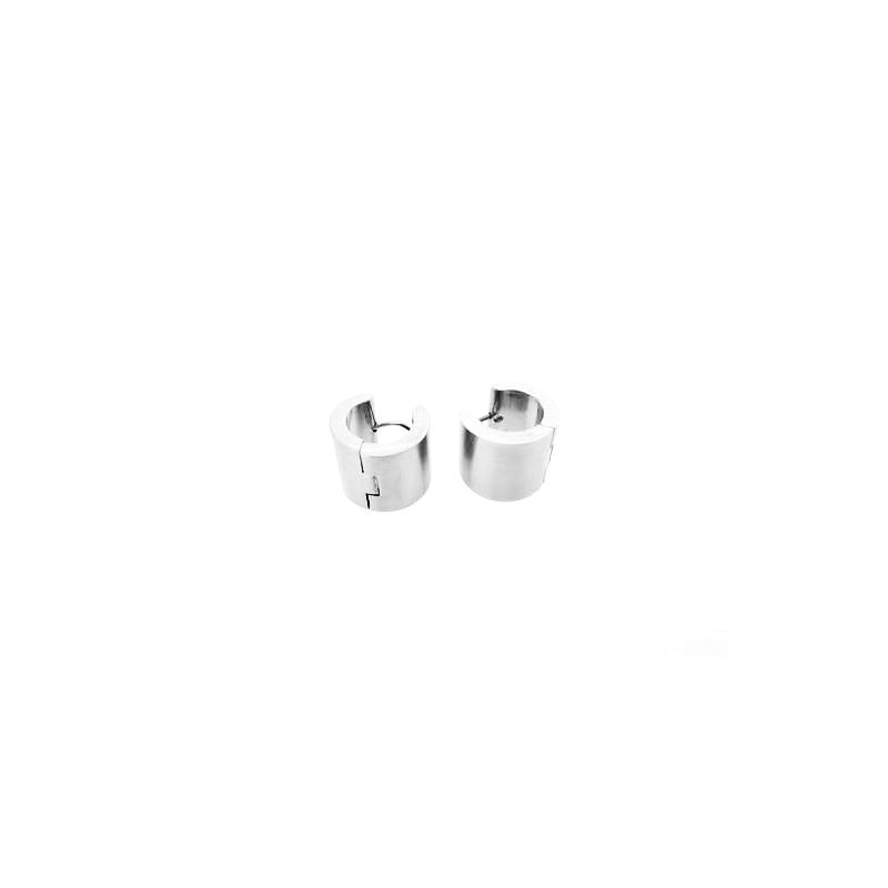 Stahl Ring Ohrrings