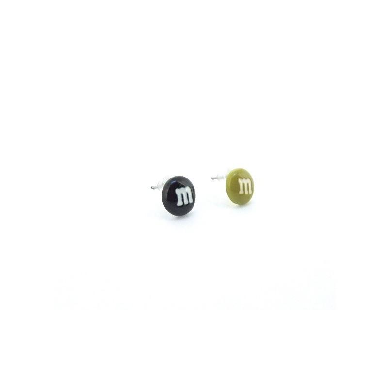 Fülbevaló magvak cukorkák m&m's