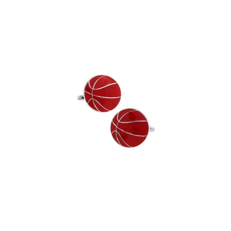 Spinki mankietowe basketball