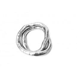Bransoleta srebrny wąż
